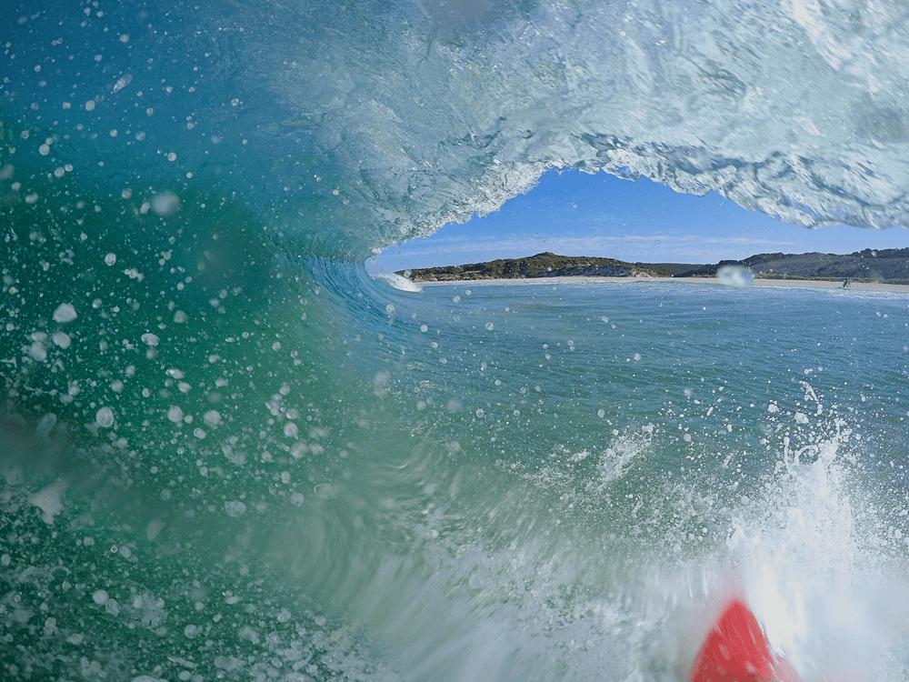 vague plage surf